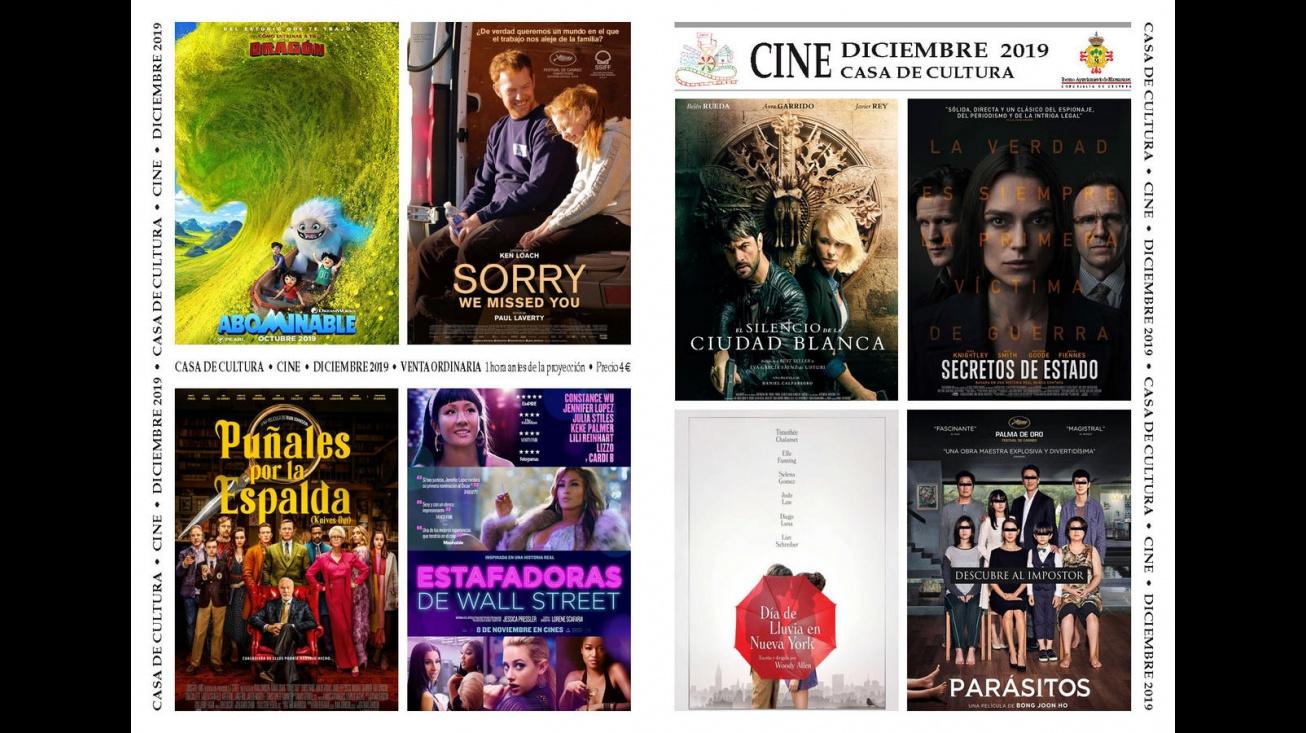 Cine de Manzanares (diciembre 2019)