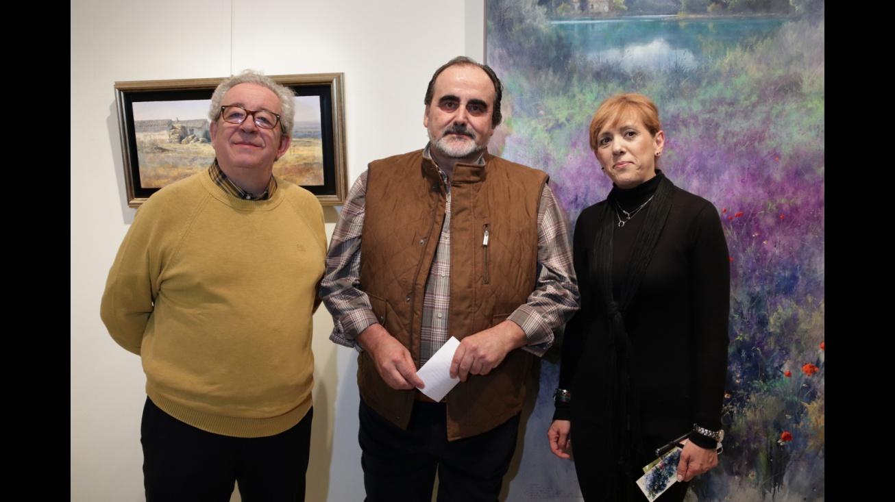 Exposición 'El color de la atmósfera' de Fermín García Sevilla