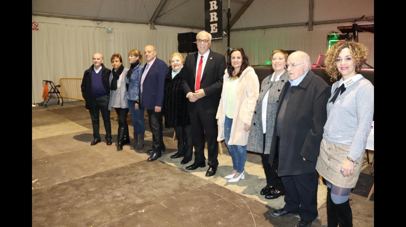 Miembros del Equipo de Gobierno y del Consejo del Centro de Mayores