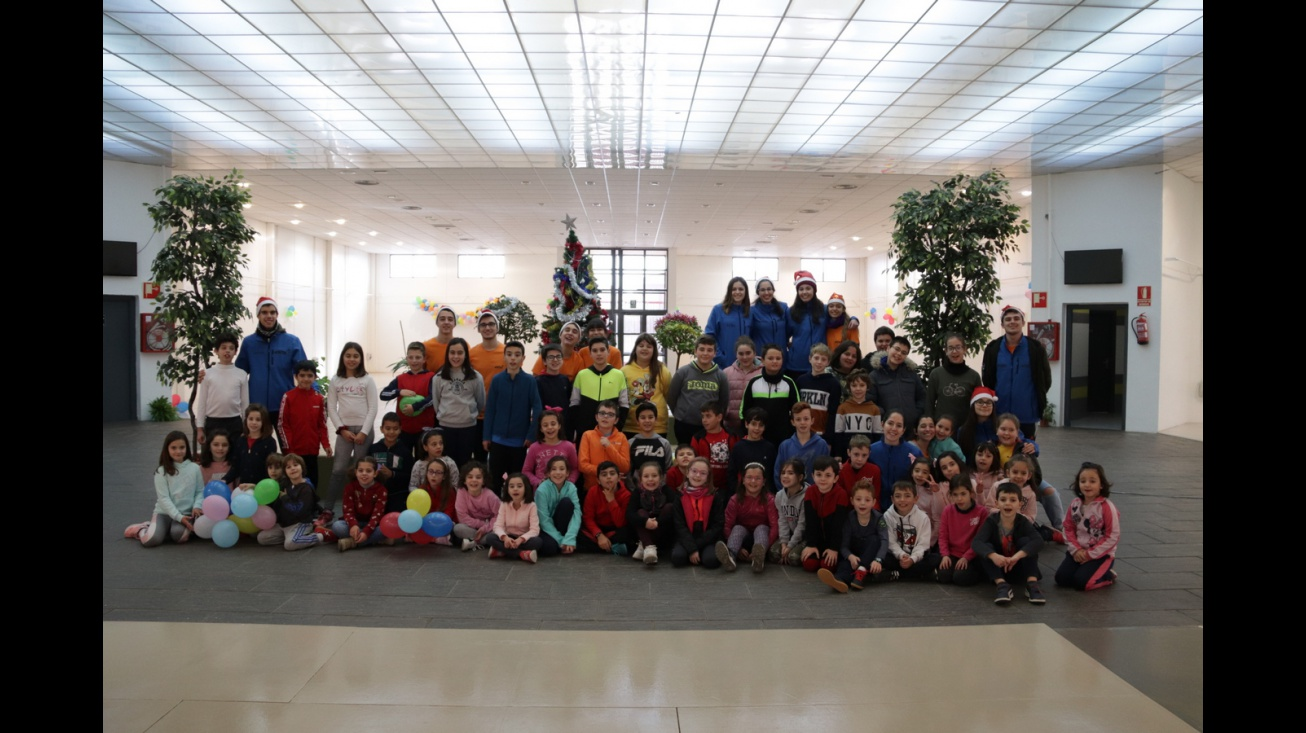 Campamento navideño a cargo de la asociación juvenil 'Talayot'