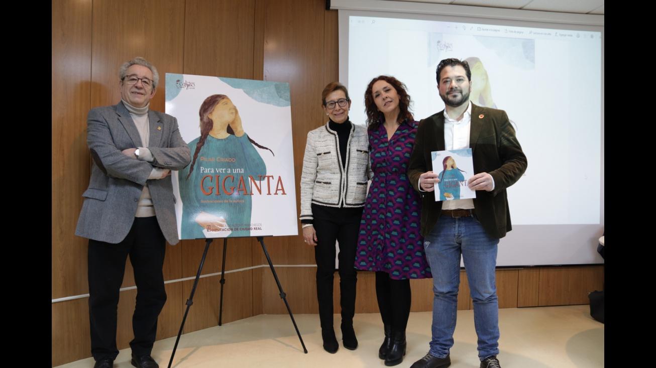 Presentación del libro y exposición 'Para ver a una giganta' de Pilar Criado