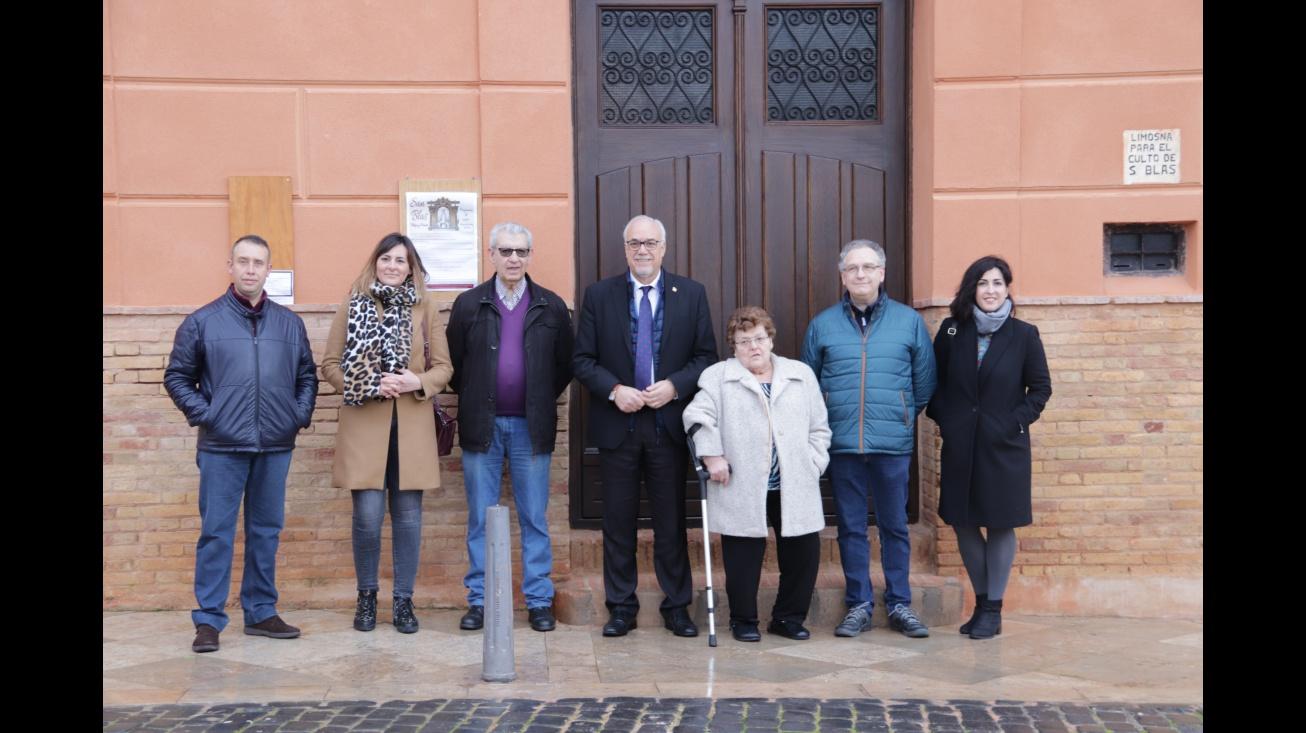 El Ayuntamiento restaura la fachada de la ermita de San Blas