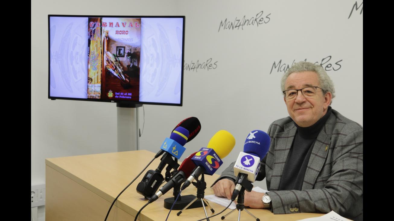 'El Patacón' pregonará el Carnaval de Manzanares