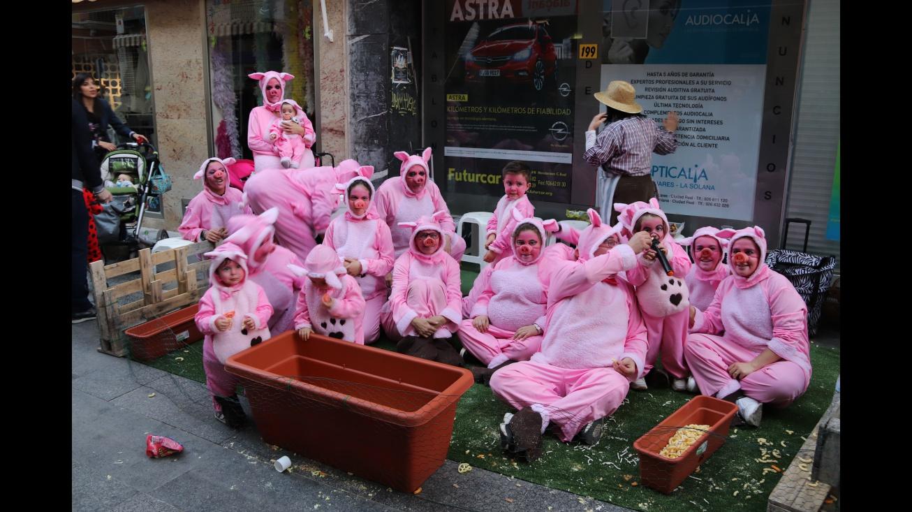 Peña El Patacón en el carnaval de 2019