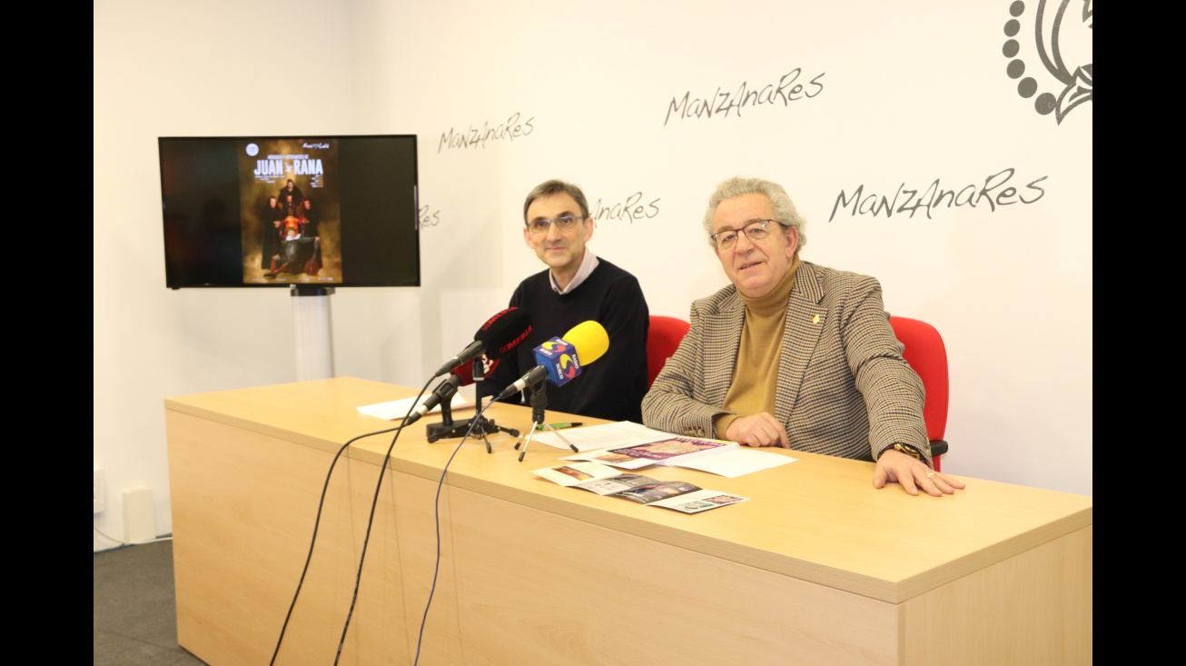 Manuel Alises y Candi Sevilla presentaron la programación cultural de primavera