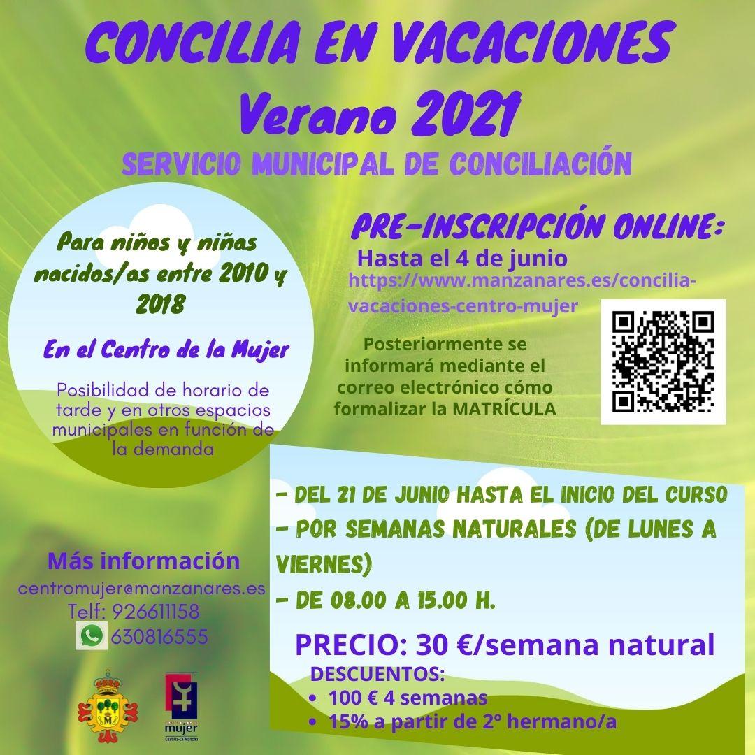 CONCILIA EN VACACIONES