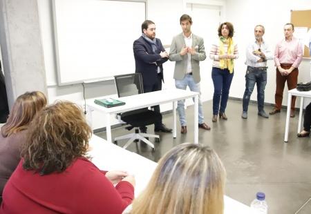 Palacios y Camacho clausuraron el taller de empleo