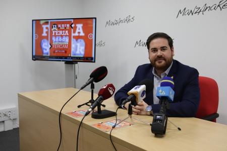Pablo Camacho en la presentación de la 13ª Feria del Stock