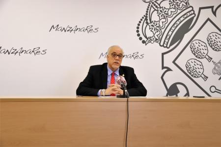 Julián Nieva durante su intervención