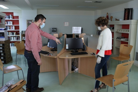 Instalación de puntos de inclusión digital en centros municipales