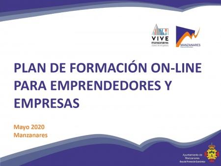 Plan de formación online para emprendedores y empresas