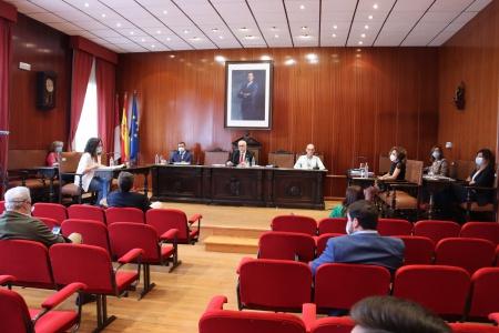 Foto de archivo del pleno celebrado en mayo