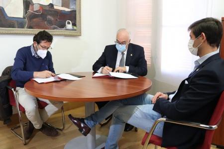 Firma convenio Ayuntamiento - IES 'Pedro Álvarez de Sotomayor'