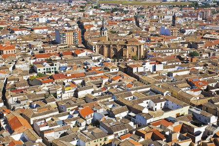 Vista aérea de Manzanares