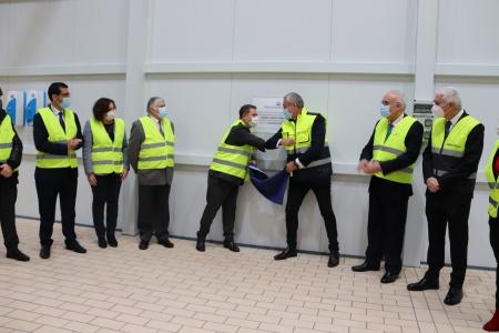 Page inaugura una nueva línea de producción de Pernord Ricard