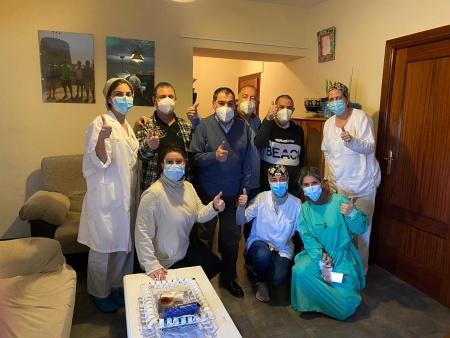 La vacuna contra la COVID se puso en la vivienda tutelada el 12 de enero