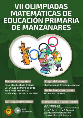 VII Olimpiadas Matemáticas de Educación Primaria de Manzanares