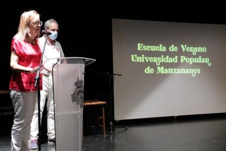 Acto de clausura de la escuela de verano de la Universidad Popular 2021 (julio)