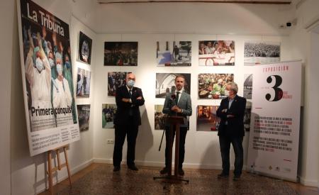 Exposición tres décadas de información en imágenes