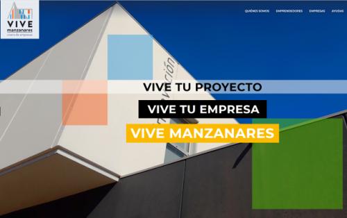 Imagen portada Web Vivero de Empresas Manzanares