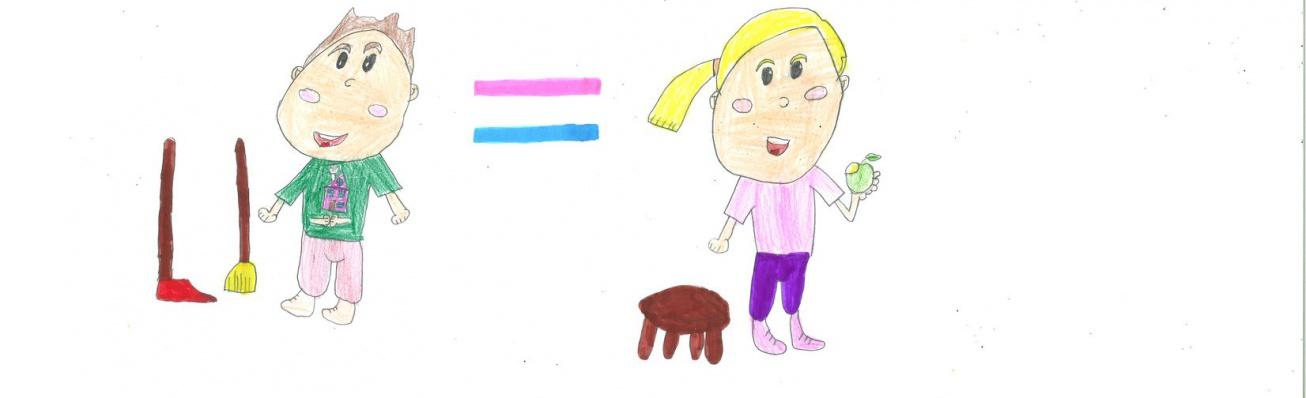 Uno de los dibujos participantes en anteriores actividades en colegios