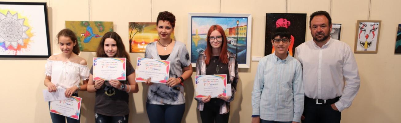 Entrega de premios del III certamen 'Jóvenes artistas de Manzanares' (1)