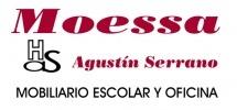 Imagen: Logotipo Moessa (Mobiliario Oficina y Escolar S.A.)