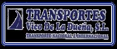 Imagen: Logotipo Transportes Vico de la Dueña S.L.