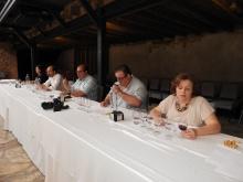 Cata del jurado de vinos