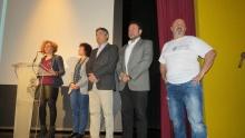 Beatriz Labián, Camen Pimienta, Francisco Navarro, Juan López de Pablo y Andrés Carmona
