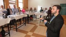 José Manuel Romero realizó las catas comentadas de vino