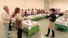 Una de las sesiones de show cooking a cargo de Mayte Jiménez