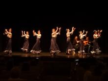 Actuación del grupo de danza española