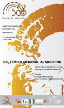 'Del templo medieval al moderno: Cambio de ubicación del templo parroquial al centro de la villa'
