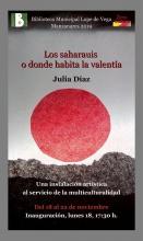 'Los saharauis o donde habita la valentía'