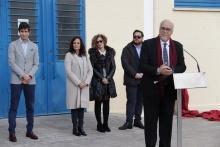 Nombramiento del Pabellón 'Antonio Caba'