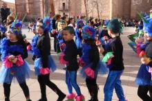 Divinos carnavaleros con el colegio Divina Pastora