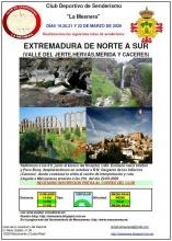 Extremadura de norte a sur