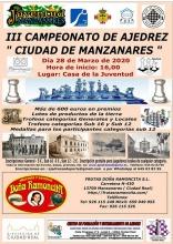 III Campeonato de Ajedrez 'Ciudad de Manzanares'