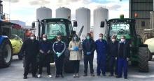 El Ayuntamiento muestra su agradecimiento a los agricultores y entidades que colaboran en la desinfección de Manzanares