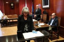 Pilar Maeso Jareño promete su cargo como concejala