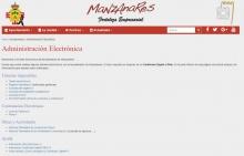 Administración electrónica - Ayuntamiento de Manzanares