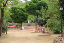 La zona infantil y el skate park siguen cerrados