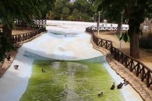 Se han limpiado el lago y canales