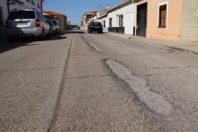 Obras en las calles Misericordia y Lope de Vega