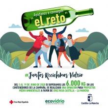Reto solidario #JuntosReciclamosVidrio