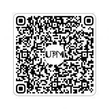 Código QR de la Universidad Popular de Manzanares
