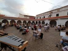 Ensayos en el mercado municipal de la AMC 'Julián Sánchez-Maroto'