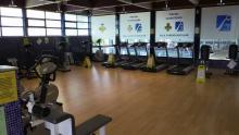 Sala cardiovascular de la piscina cubierta