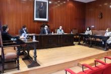 Reunión de Julián Nieva con la Asociación Empresarial de Manzanares